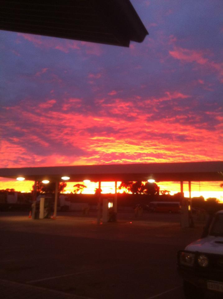 Sunrise at Kalgoorlie